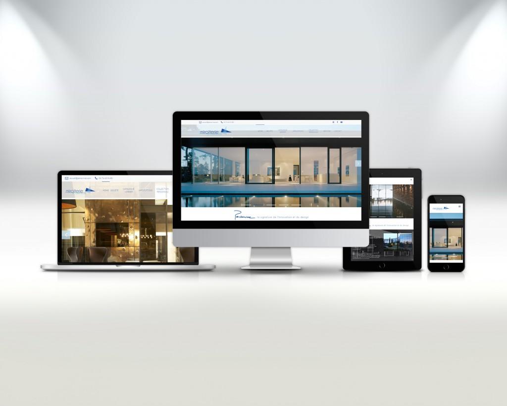 nouvelle charte graphique et nouveau site pour la miroiterie de chartreuse blog de la. Black Bedroom Furniture Sets. Home Design Ideas