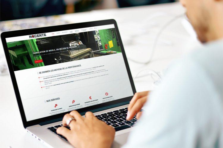 Refonte graphique du site internet de Nocente pour répondre aux nouvelles ambitions de l'entreprise !