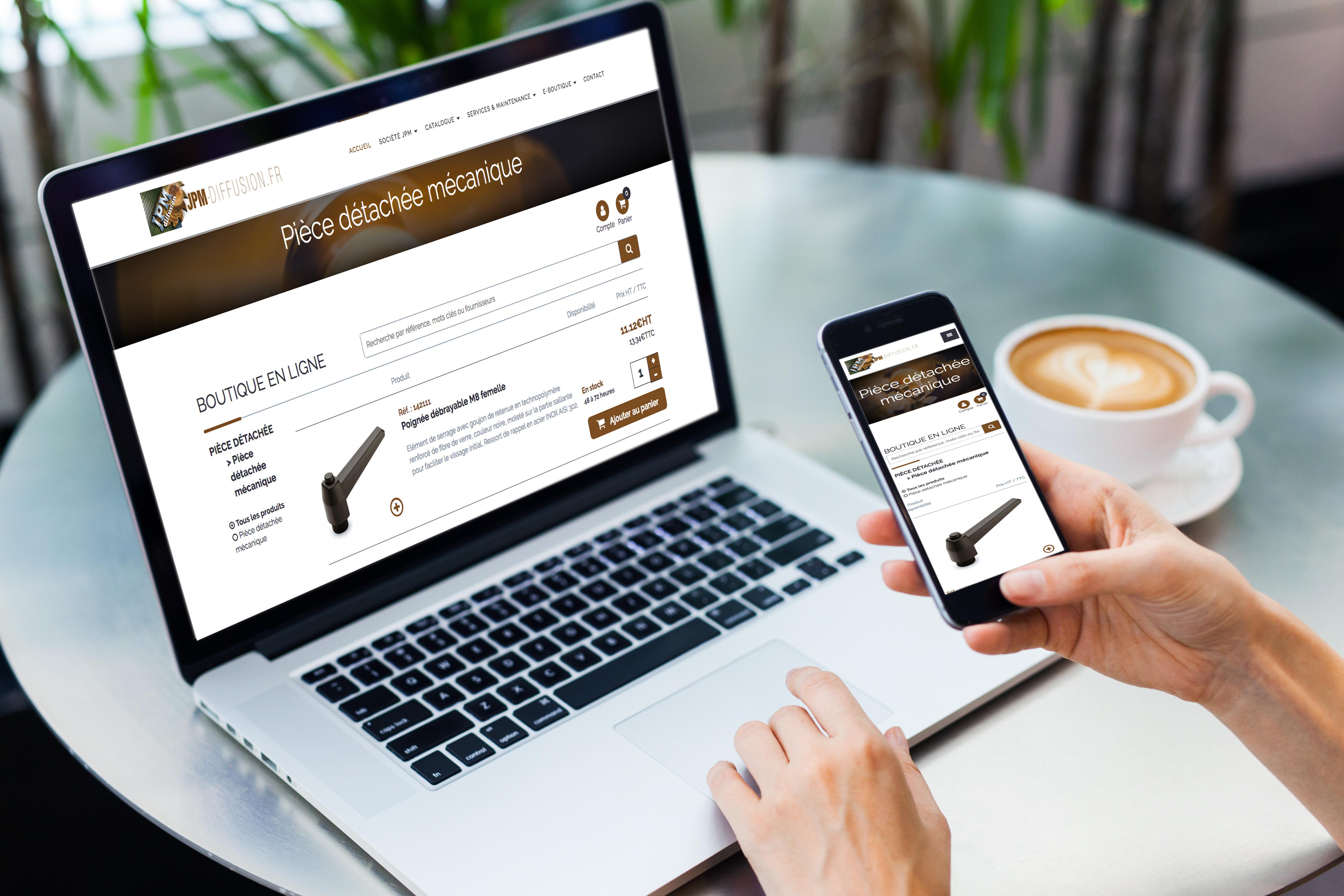 NOUVEAU sur le site de JPM Diffusion, une e-boutique a fait son apparition !