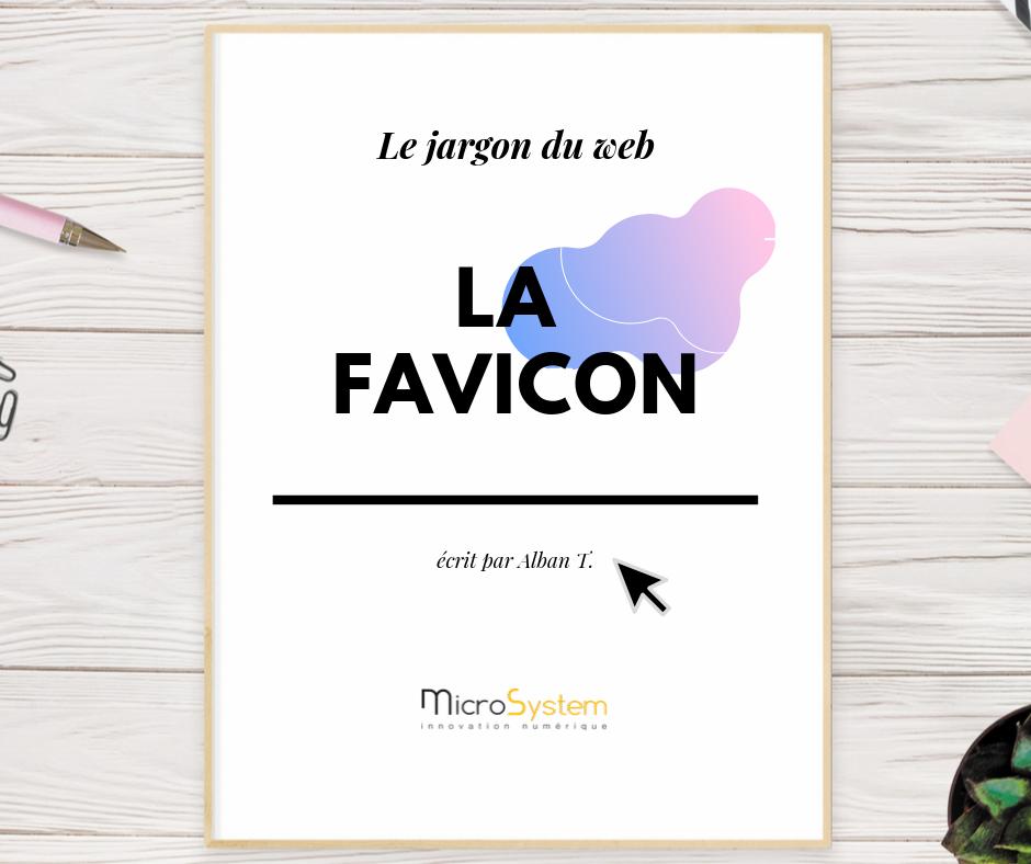 La favicon : Le jargon du web