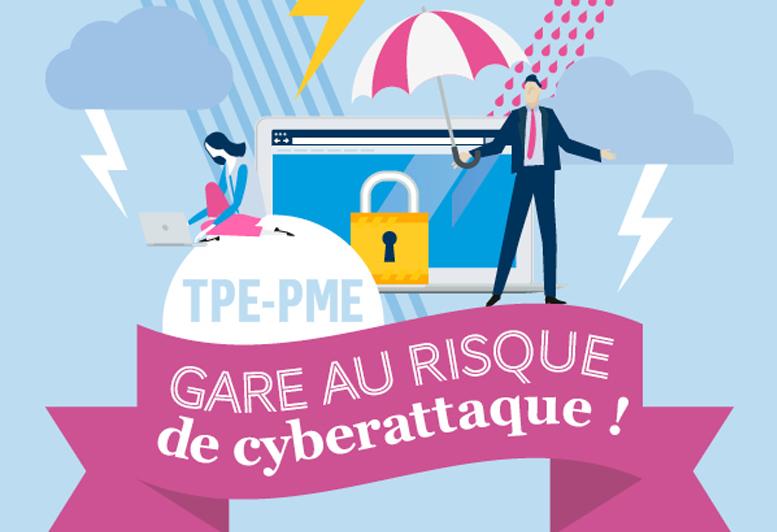 [INFOGRAPHIE] TPE/PME : gare au risque de cyberattaque !