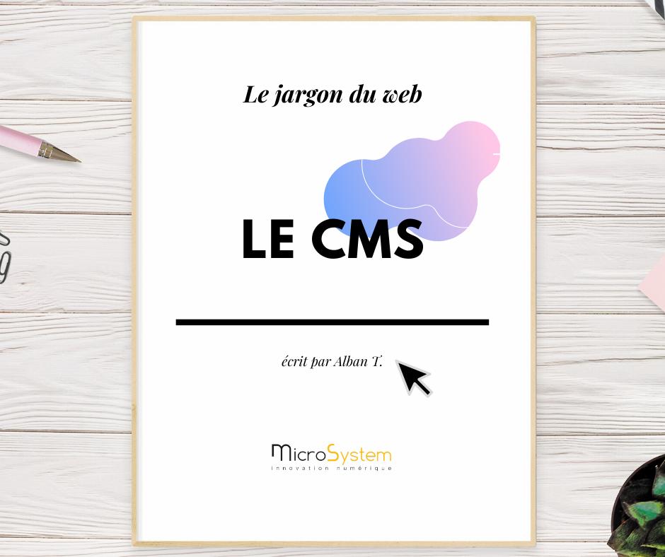 Le CMS : Le jargon du web