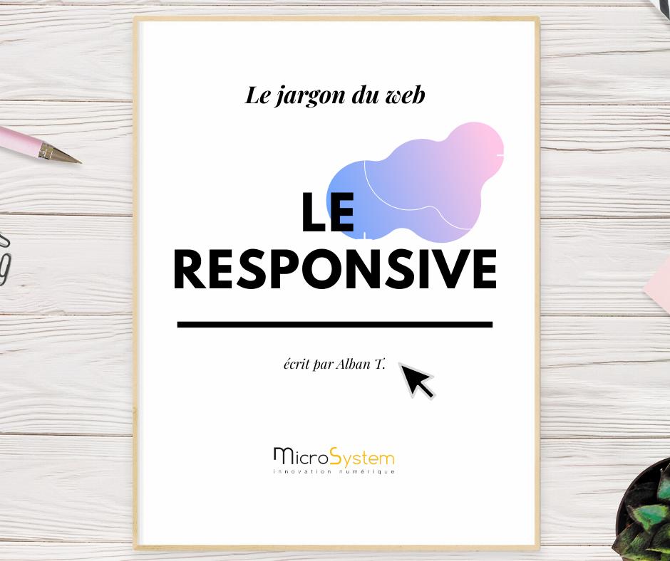 Le responsive : Le jargon du web