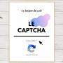 LE JARGON DU WEB : Le captcha
