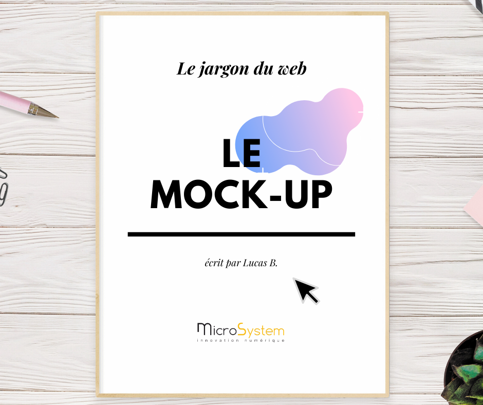 Le mock-up : Le jargon du web