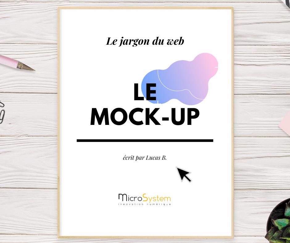 Le jargon du web : Le mock-up