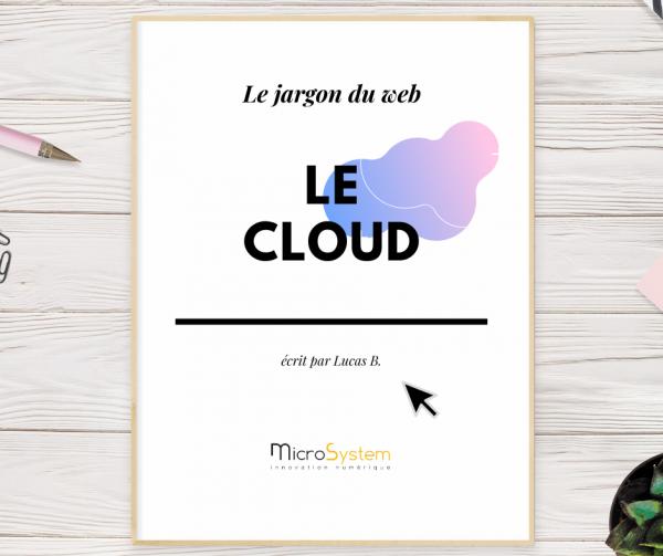 Le cloud : Le jargon du web