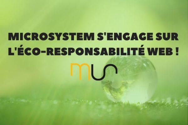 MicroSystem s'engage sur l'éco-responsabilité web !