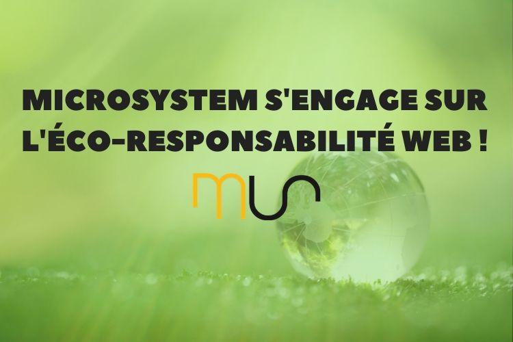 Engagement eco-responsable web